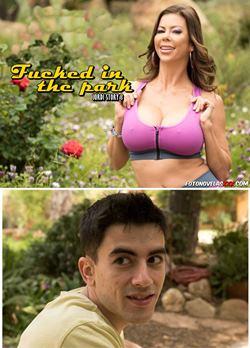 milf whore in park
