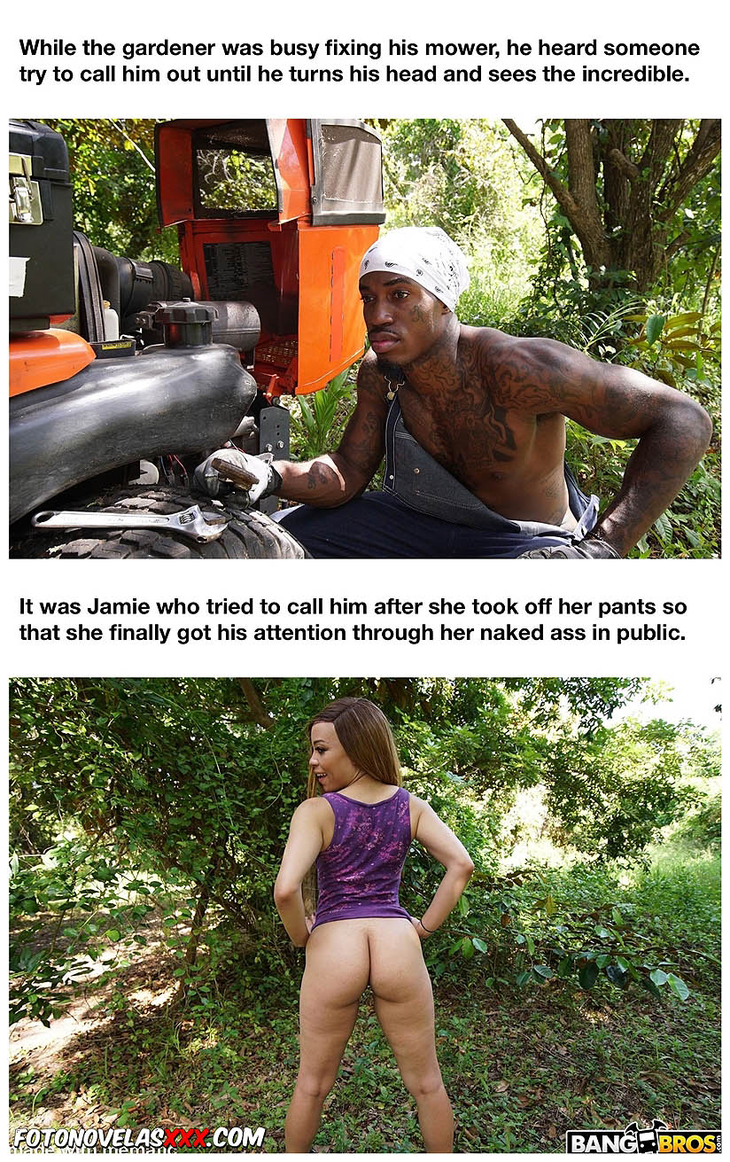 horny little girl in the park pag4