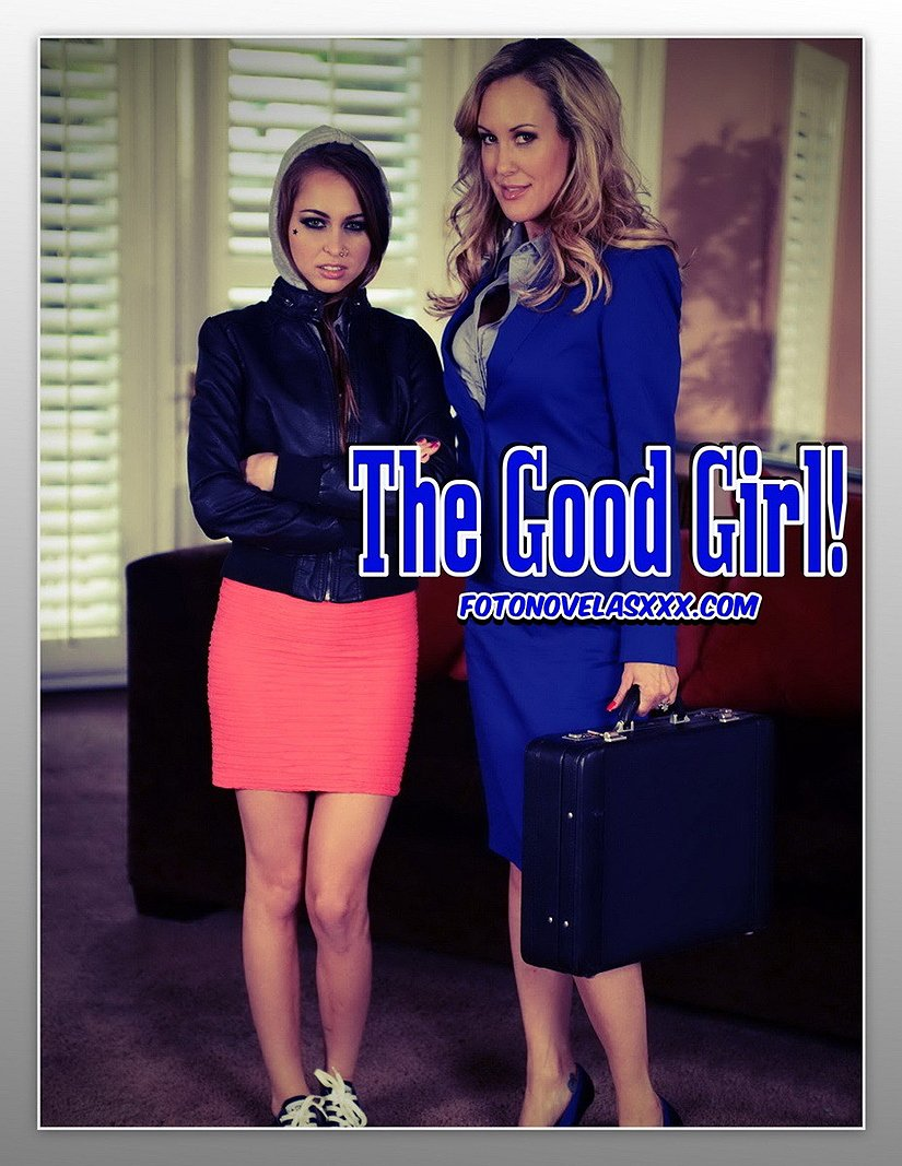 the good girl photo comic pag1