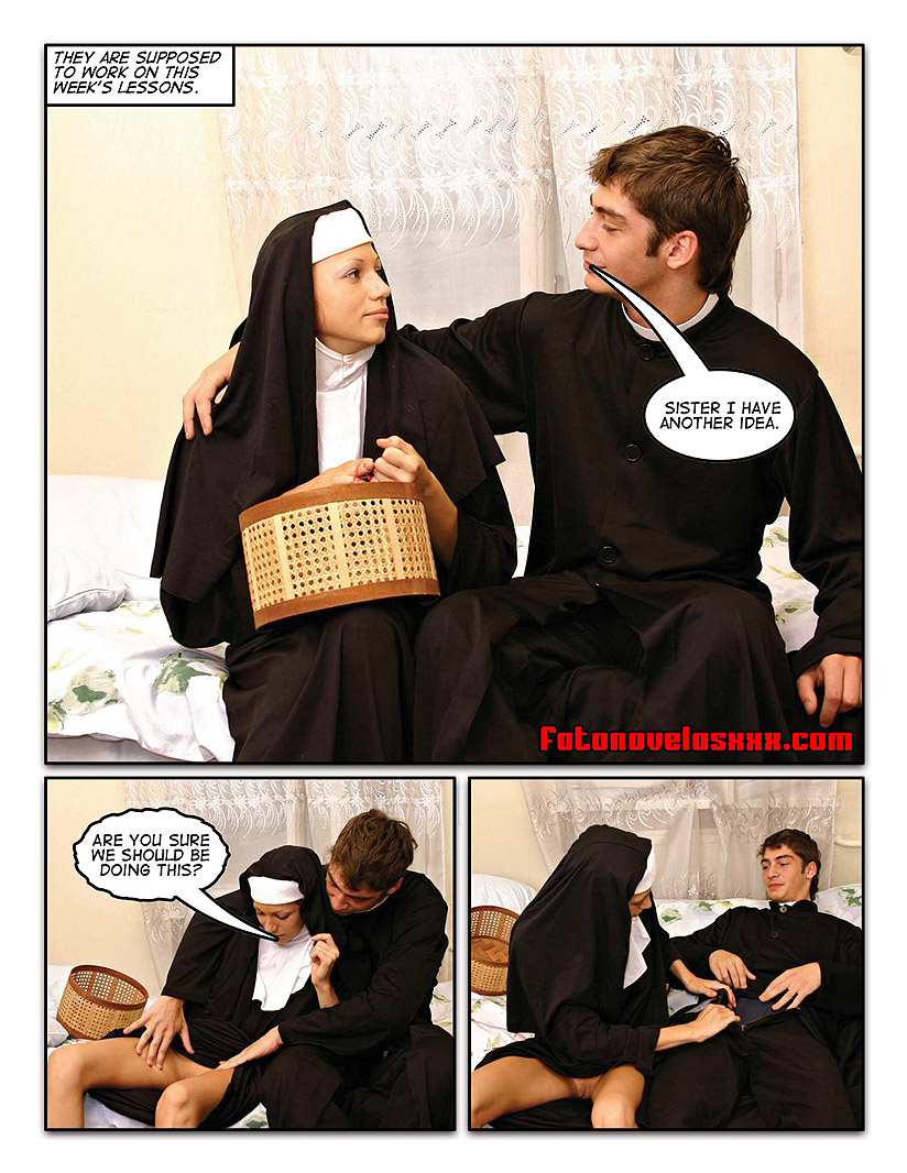 slutty nuns 13 photo comic pag2