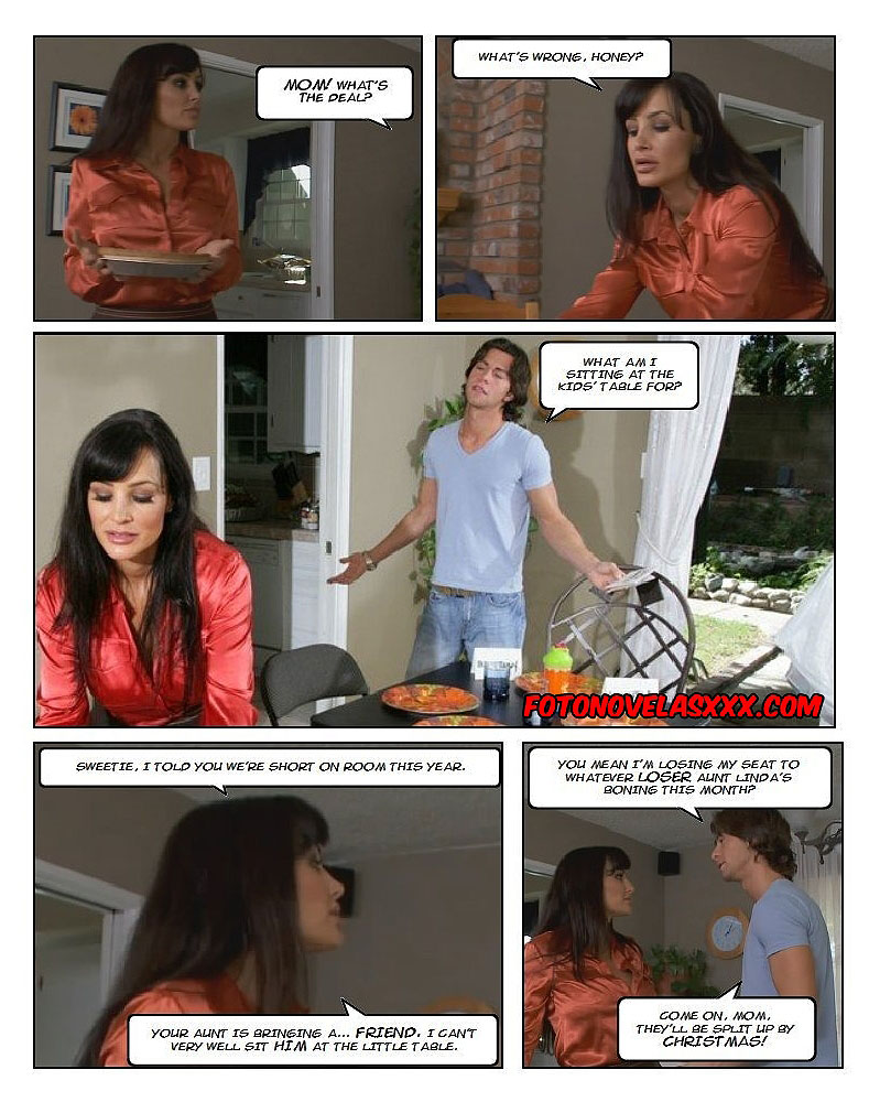 stuffing mom's turkey photo-comic pag3
