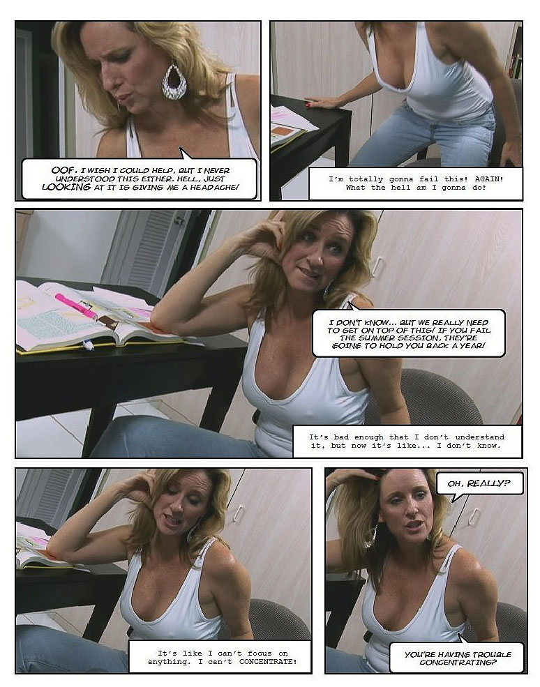 summer school blues photo comic pag2