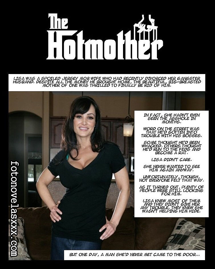 the hot mother photo comic pag1