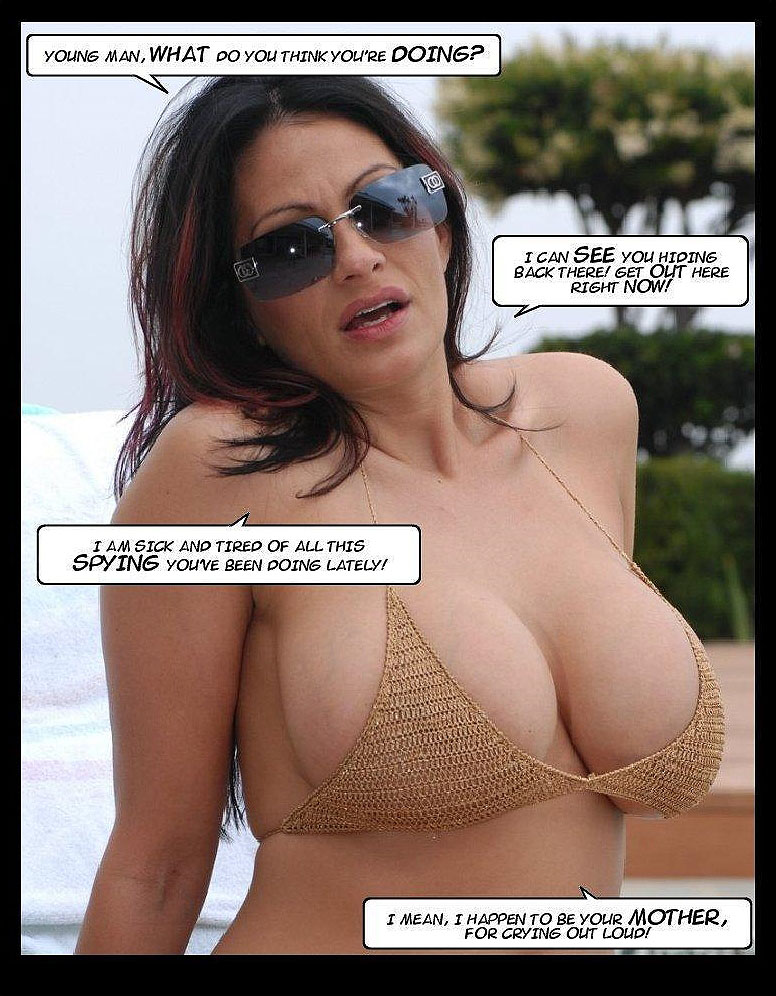 the tits of a mother photo-comic pag2