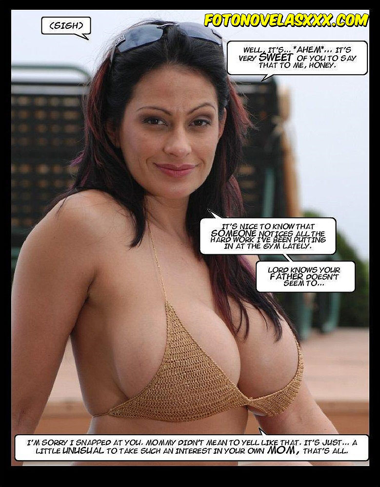 the tits of a mother photo-comic pag3
