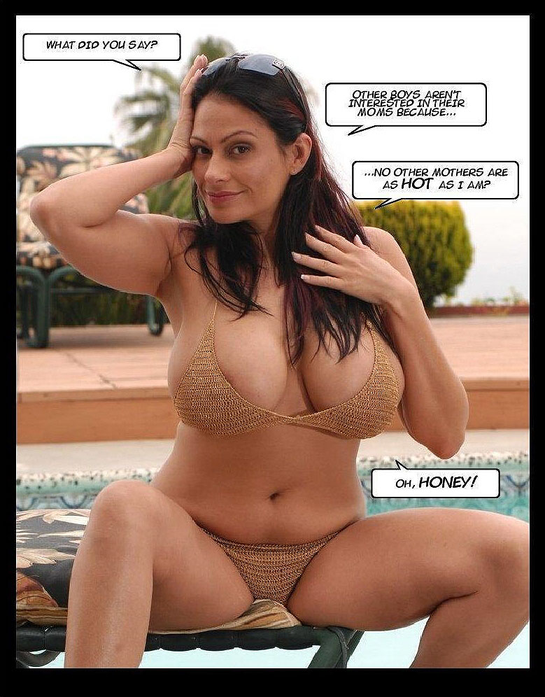 the tits of a mother photo-comic pag4