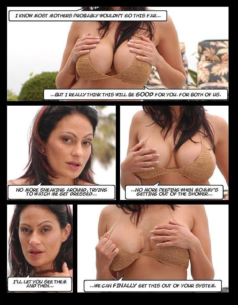 the tits of a mother photo-comic pag8