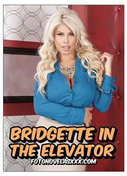 bridgette in the elevator