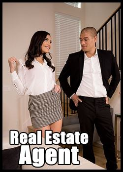 he fucks with clients to sell house