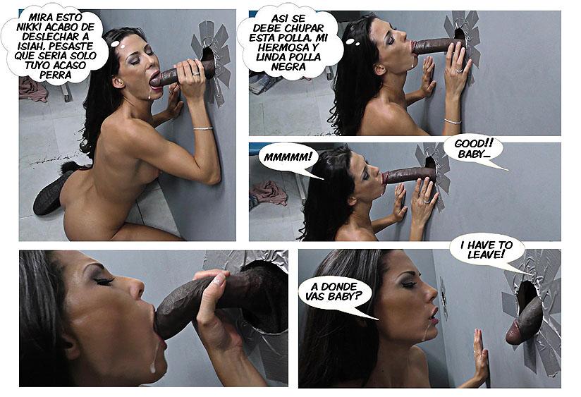 comic glory hole con negro pag27