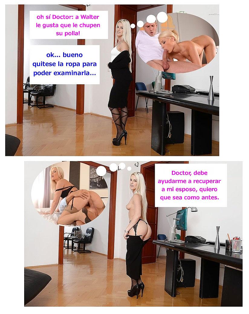 cachondas consultas del doctor comic pag6