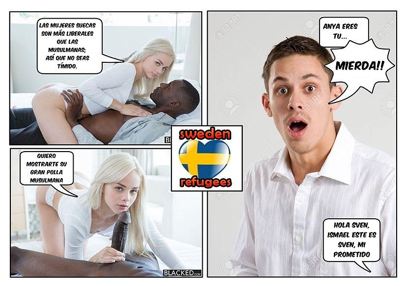 caliente bienvenida comic cuckold pag3