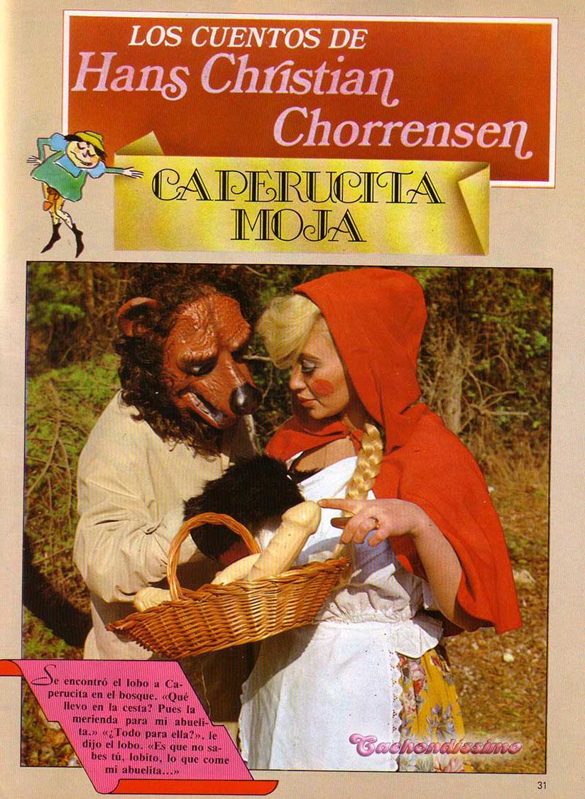 Caperucita Roja La Abuelita Y El Lobo Pelicula Porno caperucita moja comic xxx parodia del clasico cuento infantil
