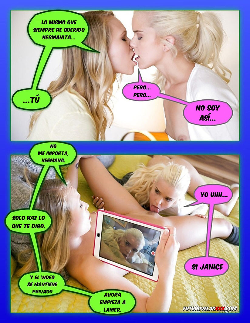 chantaje a hermana comic pag3
