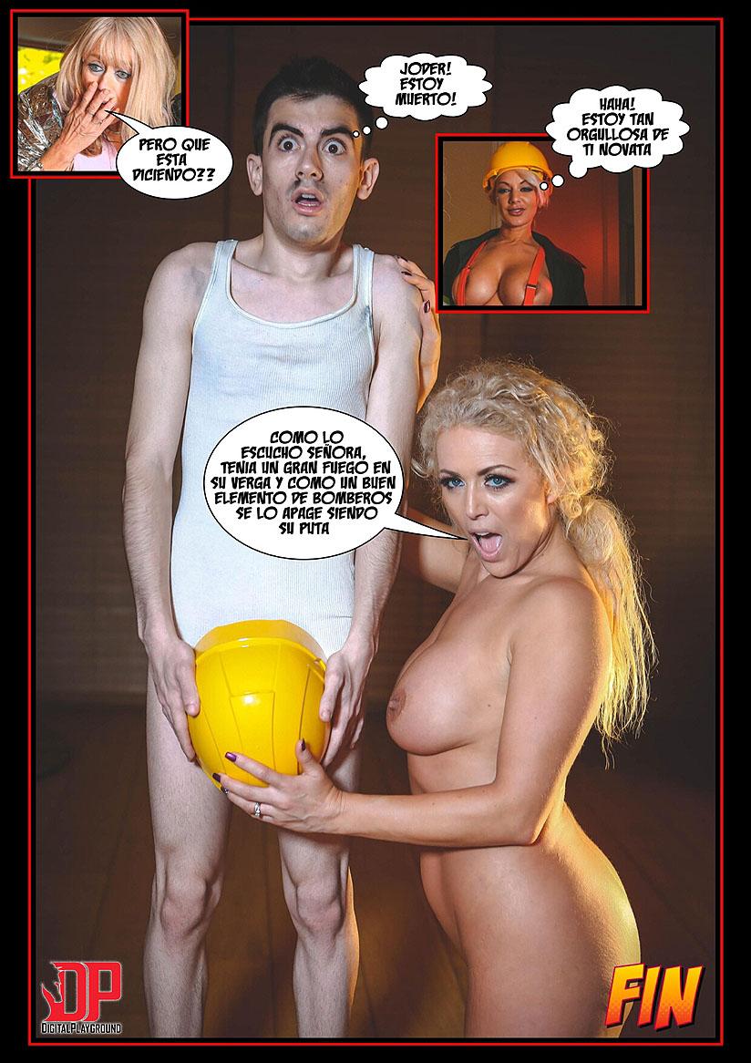 chica bombero xxx comic pag11