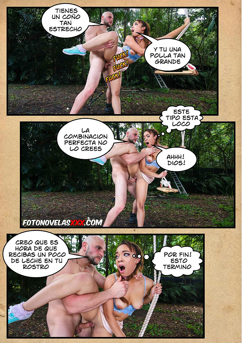 columpio sutra foto comic pag15