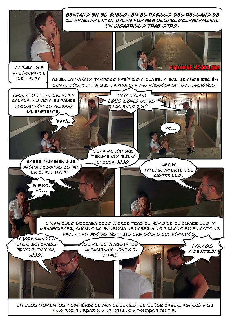de padre a hijo comic gay pag1