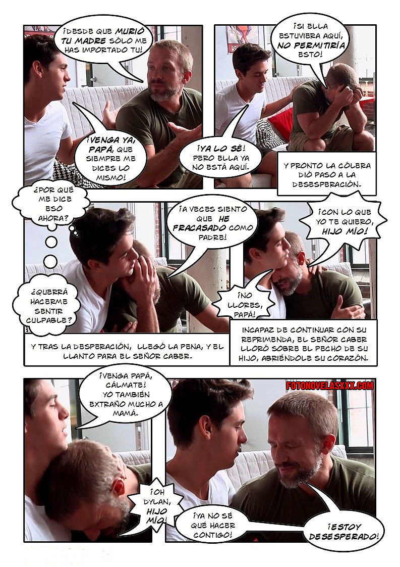 de padre a hijo comic gay pag3