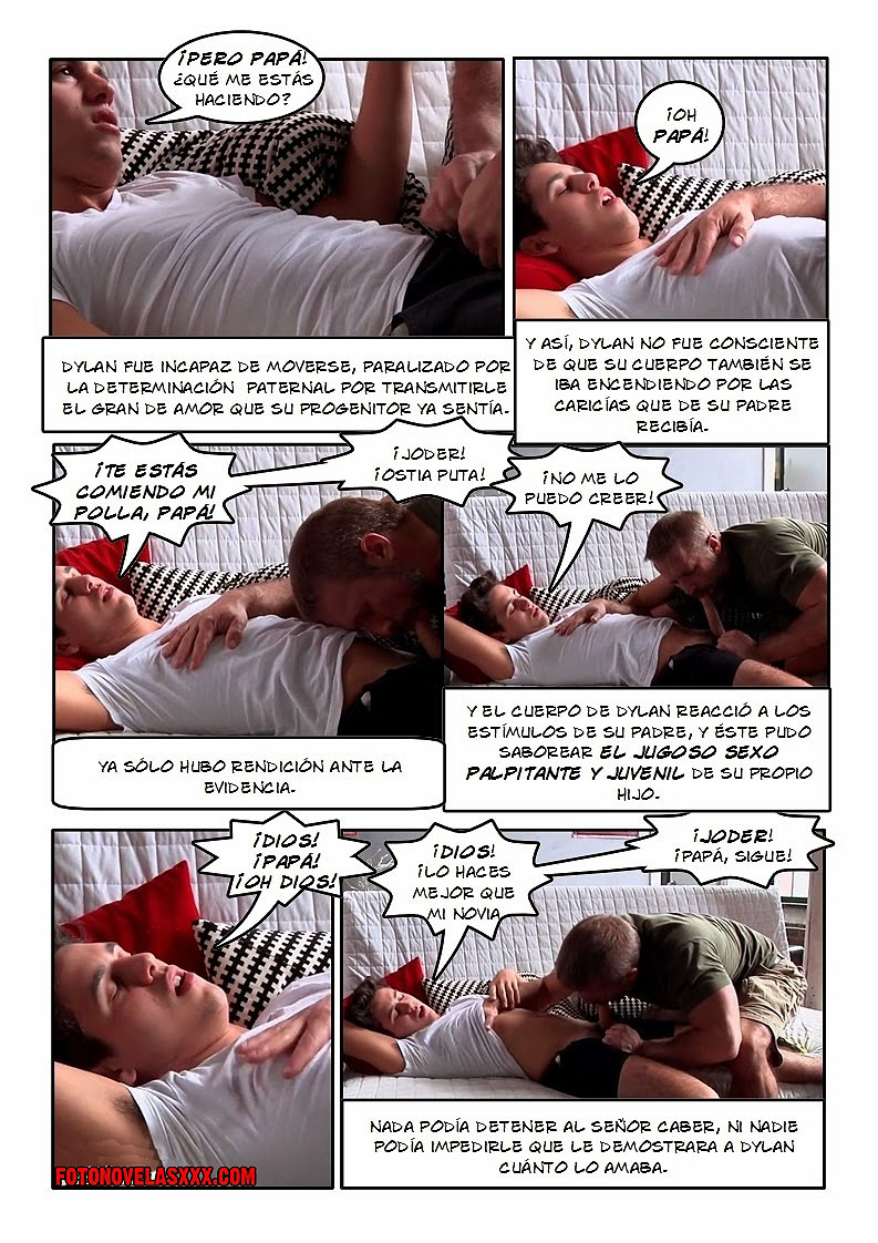 de padre a hijo comic gay pag5