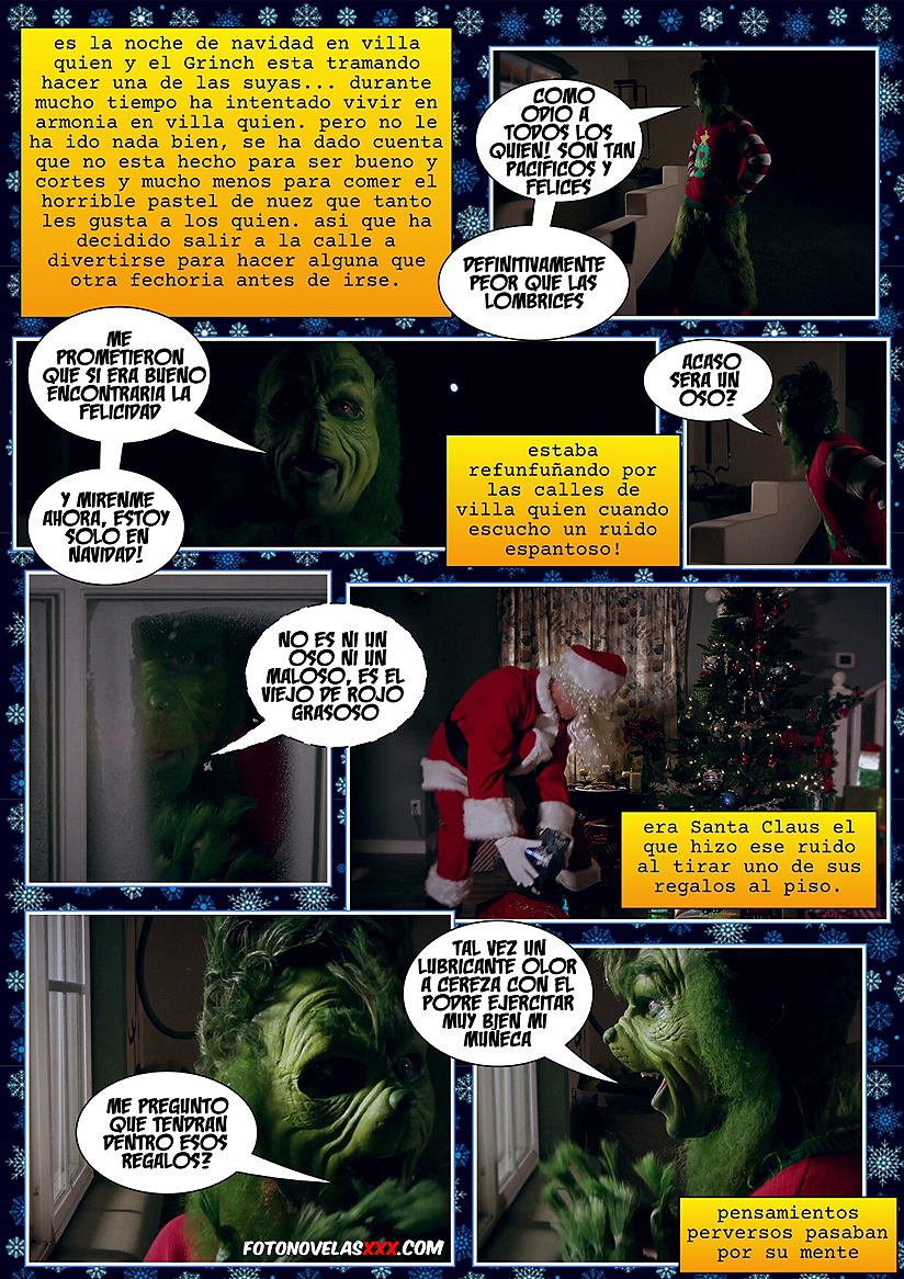 el grinch xxx comic pag1