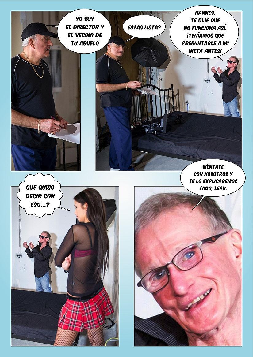 el semen del abuelo foto-comic pag2