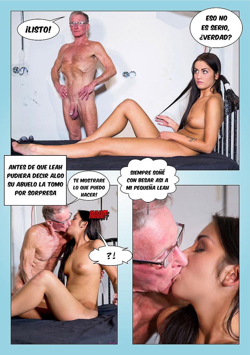 el semen del abuelo foto-comic pag6