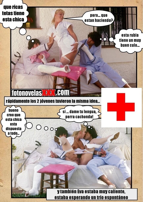 Eva Comic Porn - enfermera Eva al servicio | comics porno