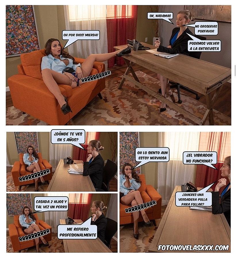 entrevista de trabajo foto-comic pag4