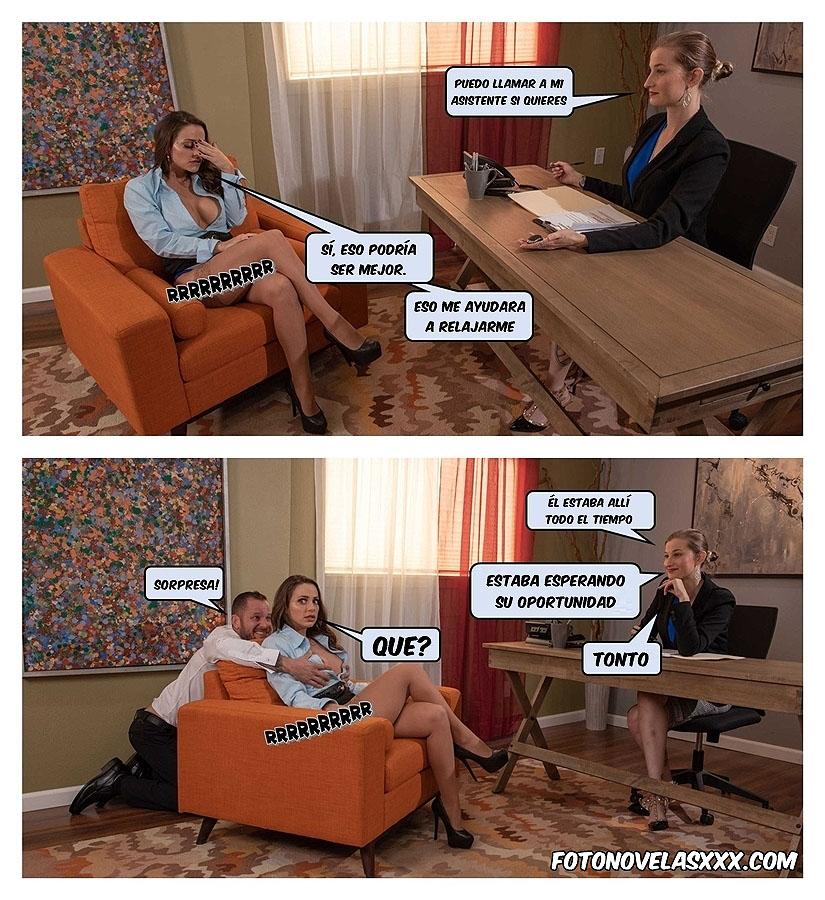 entrevista de trabajo foto-comic pag5