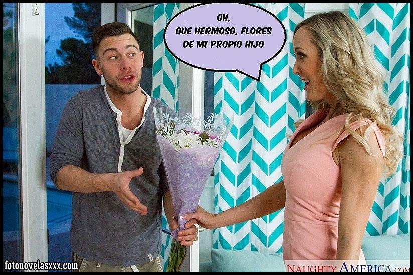 follando a mama en cumpleaños comic pag1