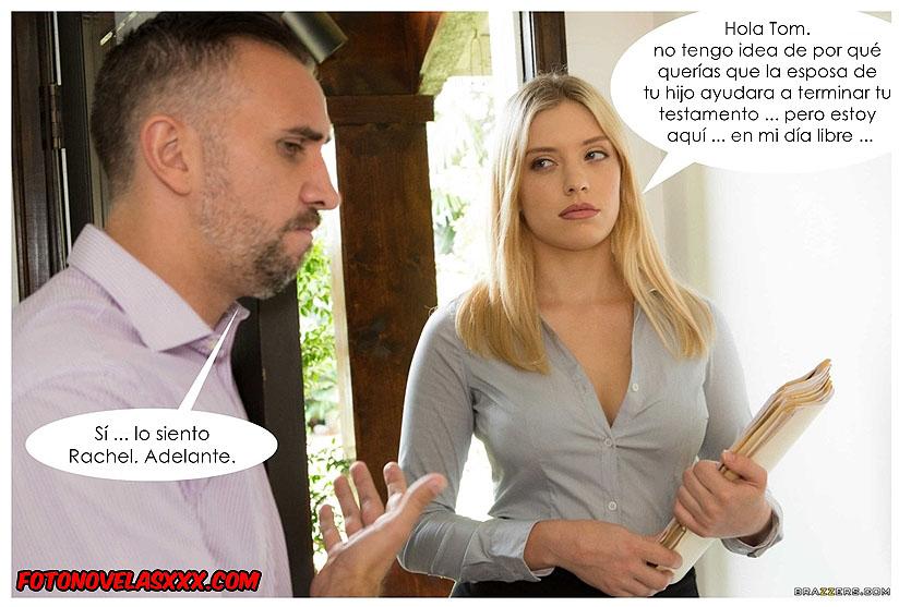 follando por herencia comic pag1