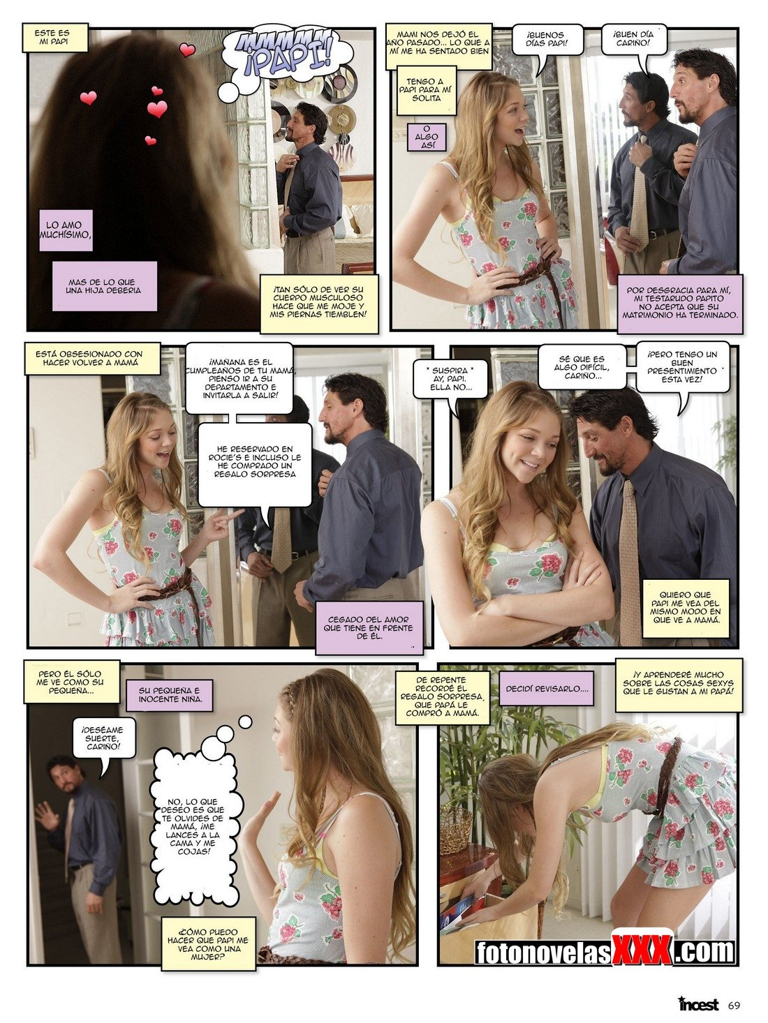incest candy 7 fotonovela pag2