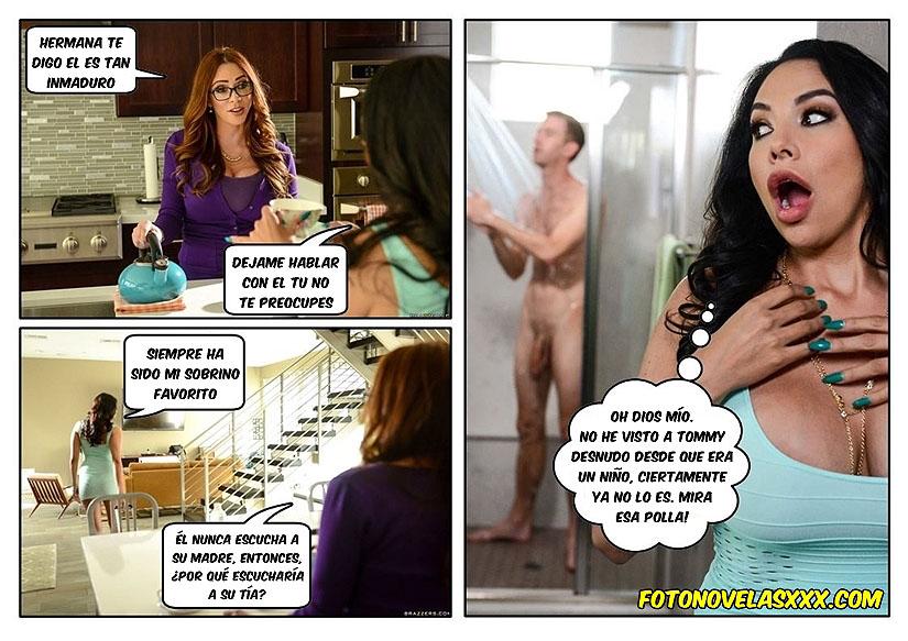 incesto madre tia e hijo foto-comic pag2