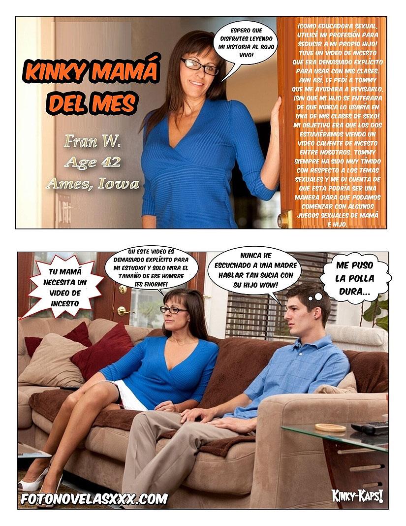 kinky mama del mes foto-comic pag1