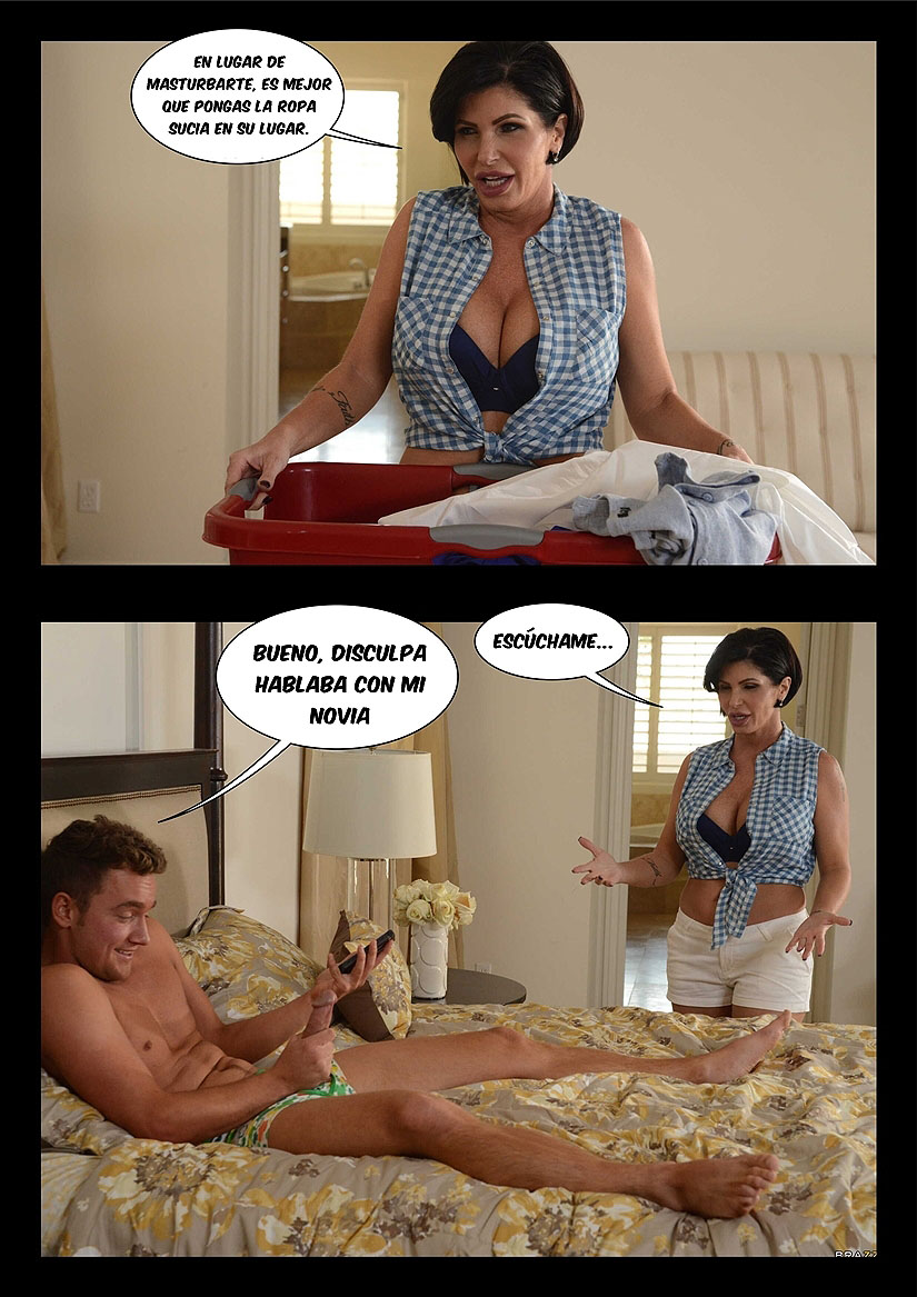 madre bella y puta shay foto-comic pag4