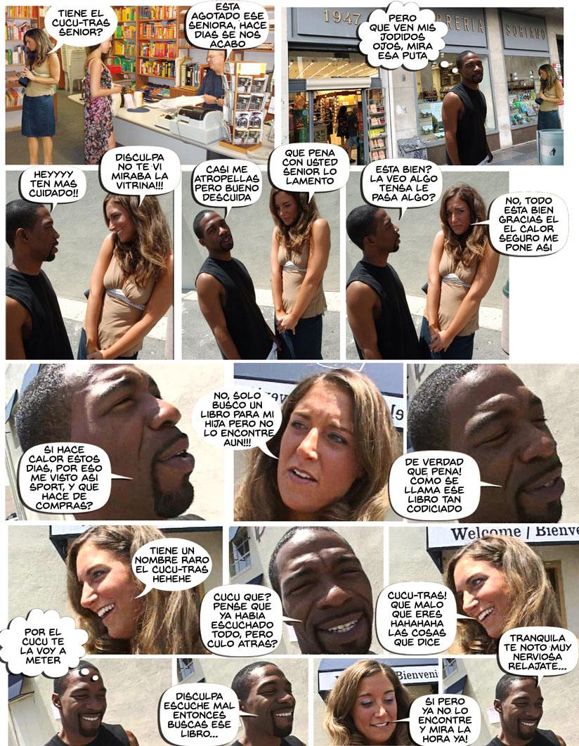 mujer puta vs polla negra comic pag5