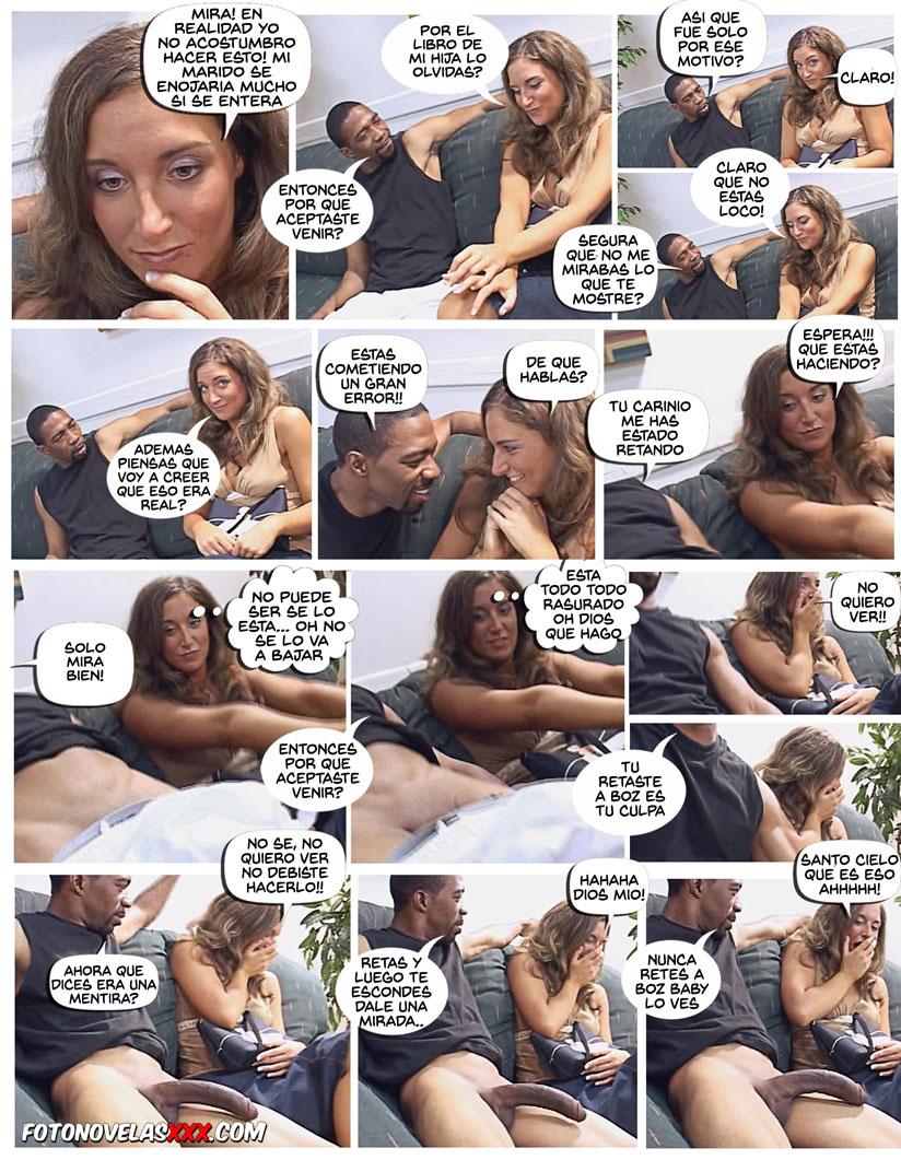 mujer puta vs polla negra comic pag14