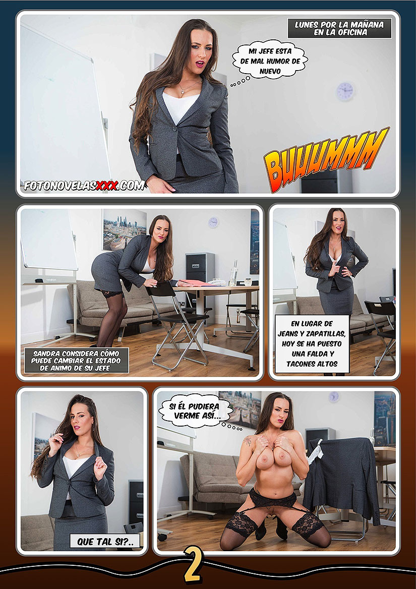 office sex 1 fotonovela pag2