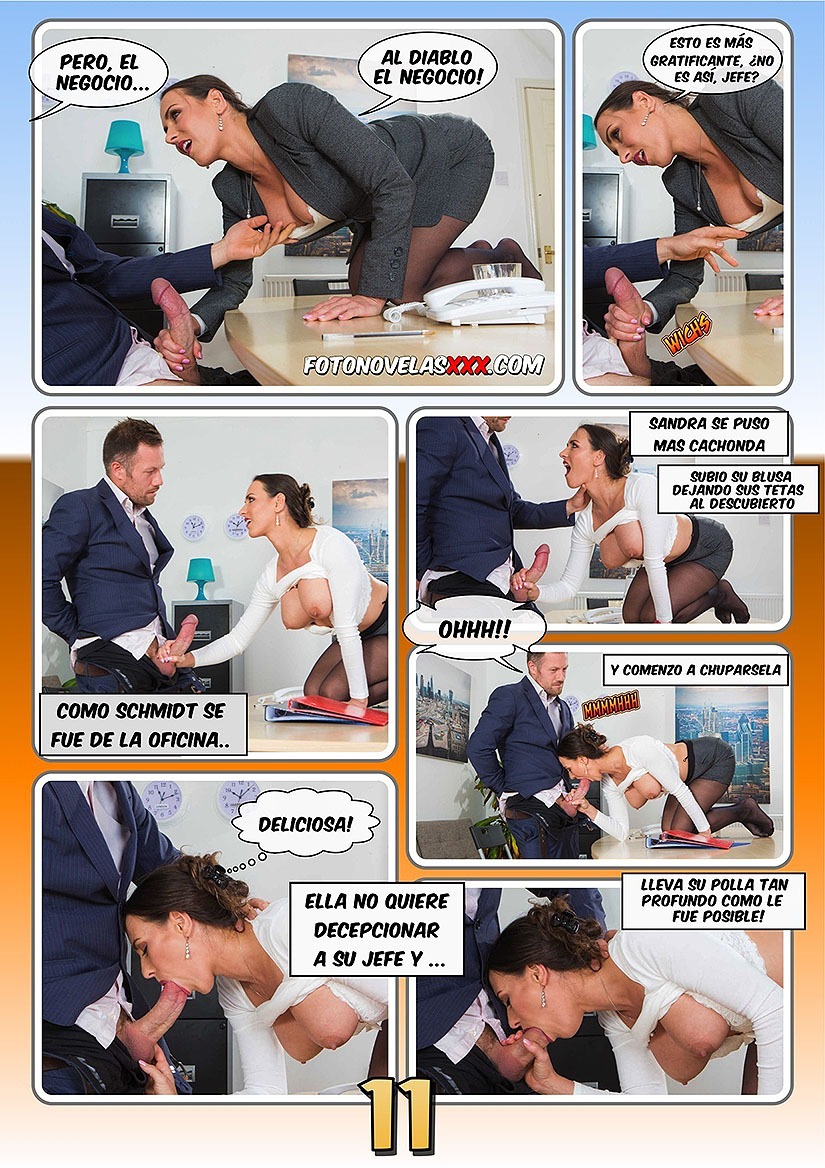 office sex 1 fotonovela pag11