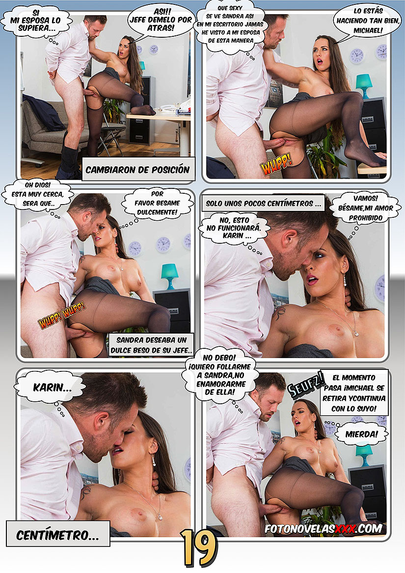 office sex 1 fotonovela pag19