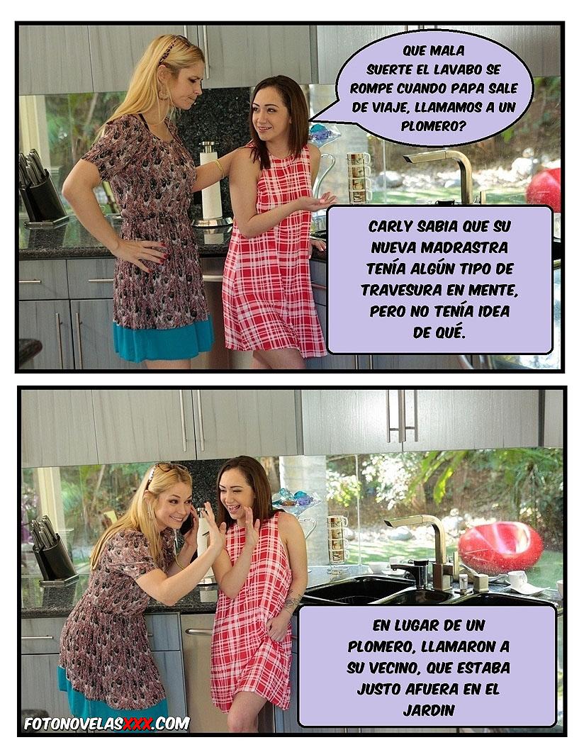 putas con el vecino comic pag1