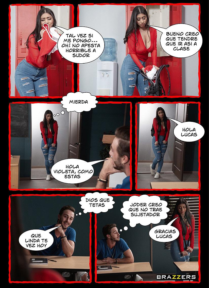 sexo duro en el aula comic pag4
