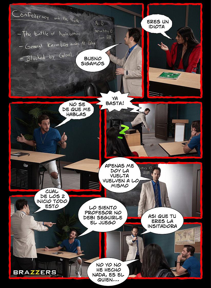 sexo duro en el aula comic pag6