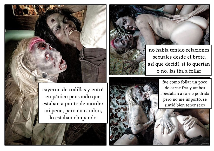 chicas zombies folladas comic pag2