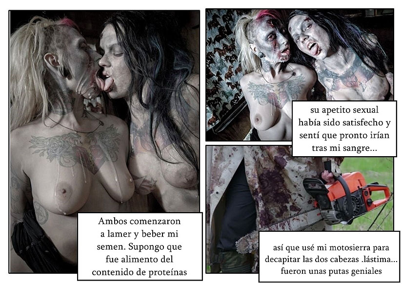 chicas zombies folladas comic pag5