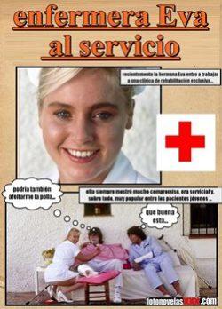 enfermera Eva al servicio