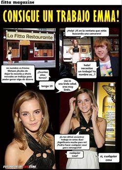 fitta magazine consigue un trabajo Emma!