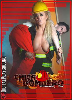 chica bombero